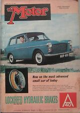 Motor magazine 25/2/1959 featuring NSU Prince road test, Ford Consul, Zephyr