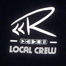 Rascal Flatts 2014 Tour Local Crew T-shirt Xl Never Worn Black