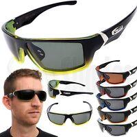 X-Loop Wrap Polarized Sunglasses Mens Sport Cycling Fishing Golfing Glasses