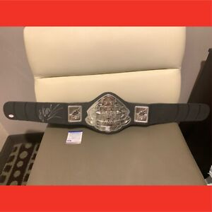 Pride Signed Belt Wanderlei Silva with Certificate of Authenticity PSA DNA