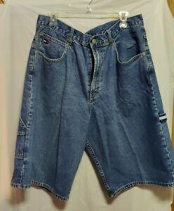 Vintage 90s Carpenter Style  Tommy Hilfiger Denim Jean Shorts Men's Size 36