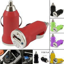 1A Quick Fast Charging Single Bullet Usb Car Charger Adapter For Mobile Phones