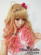 **US SELLER** JAPANESE LOLITA HARAJUKU KANEKALON MA*RS GYARU COSPLAY CURLY WIG