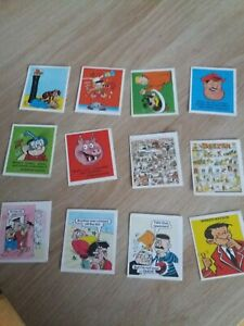 Comic Scrap-book 1991 Stickers - Pick From List