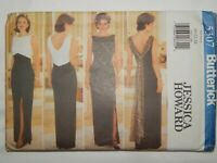 Dress Evening Gown Sewing Pattern Size 20 22 24 Butterick 5307 Jessica Howard UC