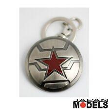 Portachiavi Keychain Keyring CAPTAIN AMERICA WINTER SOLDIER Marvel Metallo Semic