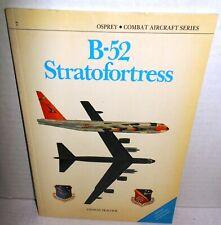BOOK OSPREY Combat Aircraft #7 B-52 Stratofortress 1st Ed op 1987