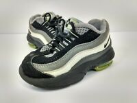 Nike Little Air Max 95 Baby Sz 6C Toddler Sneaker 311525-019 Black Gray Kids