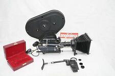 Superbe camera Pathé BTL II Duolight 16mm set complet + Angenieux 17-68