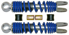 Rear shock absorbers to fit Yamaha PW50 (1981-2018) blue, 195mm pin/fork