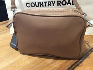 BNWT Country Road Claire Crossbody Leather Bag