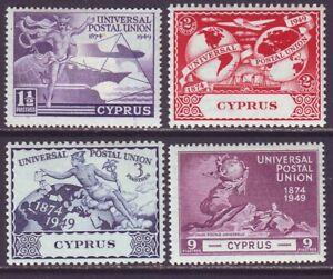 Cyprus 1949 SC 160-163 MH Set UPU