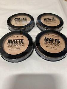 Maybelline Matte Maker Mattifiying Powder - Choose Your Shade