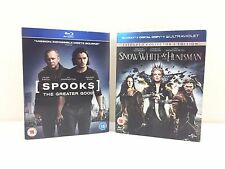 Blu-ray X 2 SPOOLS The Greater Good and Snow White & The Huntsman Sleeved VGC