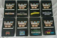 WWF Collectors Edition Best Of Wrestling VHS Lot 8 Videos Columbia House Vintage