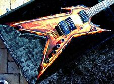 NEW DEAN DIMEBAG RAZORBACK EXPLOSION ELECTRIC GUITAR W/Case
