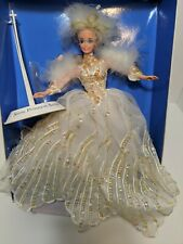1994 Snow Princess  Barbie Doll The Enchanted Seasons Collection Used with box
