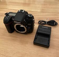 Nikon D7000 16.2MP Digital SLR Camera Body + 2 Batteries & Charger