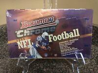 1999 Bowman Chrome Football Factory Sealed Hobby Box 24 Pack