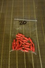 Knex Micro Red Transition Rods Parts and Pieces 20 Pcs