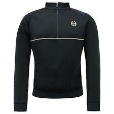Sergio Tacchini Track Top Half Zip Mens Jumper Sweatshirt Navy 37489 200 A113D