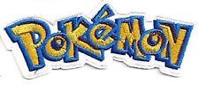 Pokemon Logo  Patch - Uniform Aufnäher neu zum Aufbügeln