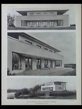 L'ARCHITECTE 1933 BOULOGNE BILLANCOURT, PARIS 26 BD BRUNE, BUCAREST FRANKEL