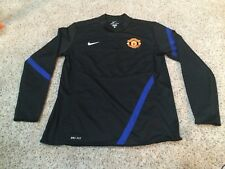 NWOT Nike Dri-fit MANCHESTER UNITED soccer Pullover Men's L sewn on team patch