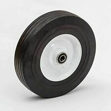 2 Solid Hard Rubber Hand Truck Wheels 10