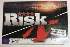 Original Risk The Game of Strategic Conquest Parker Brothers Sealed Pieces