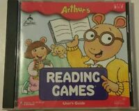 Arthur's Reading Games The Learning Company Ages 3-7 Ships in 24 hours.