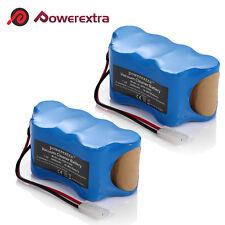 2 Pack 7.2V 3.0Ah NiMH Vacuum Battery For Euro-Pro Shark V1950 VX3 XB1918 V1917