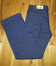 "NWT Vtg. 1960's ""OVER THE TOP"" Lariat Men's Denim jeans NOS Size 36 stretch"