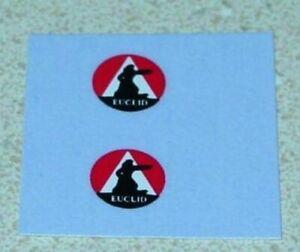 Matchbox 6B Euclid Quarry Truck Sticker Set         MB-6B