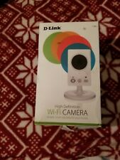 D-Link WiFi Indoor HD Camera with Motion sensor, Day/night, Micro-SD slot...