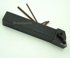 MTJNL2020K16 20×125mm Left Cylindrical turning tool holder For TNMG1604 inserts