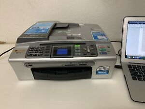 Brother MFC-465CN All-In-One Inkjet Printer w/ Ink Test Print Works