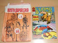 ED.CORNO SERIE  L'UOMO RAGNO  N° 82 1973 CON BUSTA ORIGINALE APERTA  N° 5 !!!!!
