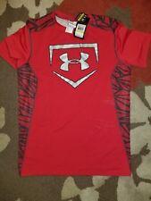 UNDER ARMOUR UA Men's Fitted heatgear BASEBALL Shirt NWT 1268583