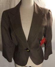 Women S Linen Pant Suits Blazers Ebay