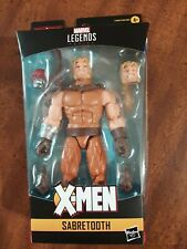 MARVEL LEGENDS AGE OF APOCALYPSE WAVE SABRETOOTH WITH BAF PIECE NEW IN BOX!!