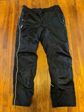 Olympia Motor Sports CE Armored Motorcycle Pants with Rain/Thermal Liner - 38