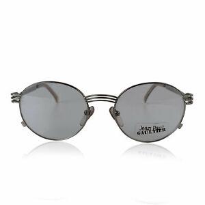 Authentic Jean Paul Gaultier Vintage Silver Eyeglasses Eyewear Forks mod 55-3174