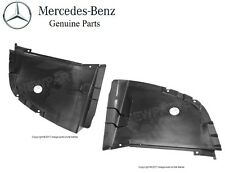 For Mercedes W208 CLK320 Pair Set of Front L+R Forward Fender Liners Genuine