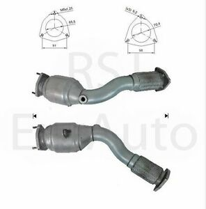 PORSCHE CAYENNE S 4.5 V8 32V Right Hand Approved Exhaust 1st Catalytic Converter