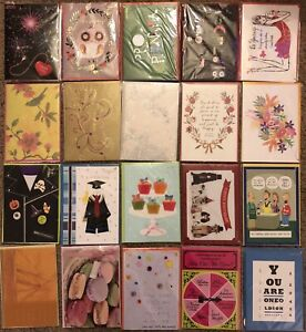 Lot of 76 New Papyrus Greeting Cards *wow*