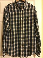 Croft and barrow long sleeve shirt size L