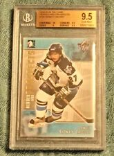 SIDNEY CROSBY Penguins 2004 ITG #104 rookie BGS 9.5 10 ctr GEM MINT graded MVP!!