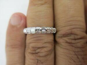18K White Gold Diamond Wedding Band Diamond=1.50 Carats D-VS2    Value=$6,500