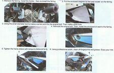 Hyosung Made ATK Frame Sliders GT250R United Motors Kasinski GT125R GT250 GT125